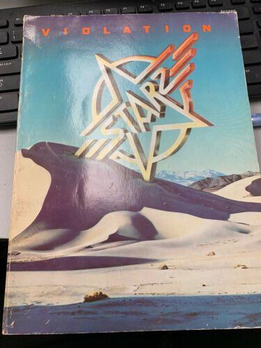 Starz signed 1976 song book super rare, Michael Lee Smith, Ranno, harkin, Dube