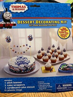 Shindigz Thomas the Train All Aboard Cake Decorating Kit Free Shipping!