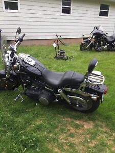 Low mileage Harley