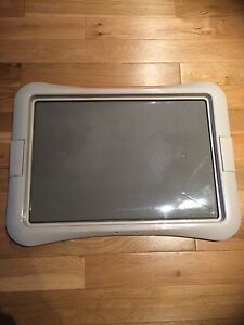 Tray for training pads