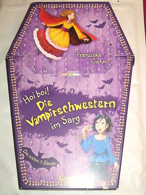 Hoi boi! Die Vampirschwestern im Sarg von Franziska Gehm ° Band 1 + 2 + 3