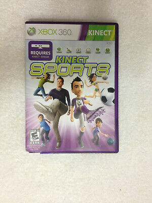Kinect Sports Xbox 360 Complete With Manual for sale  Shipping to Nigeria