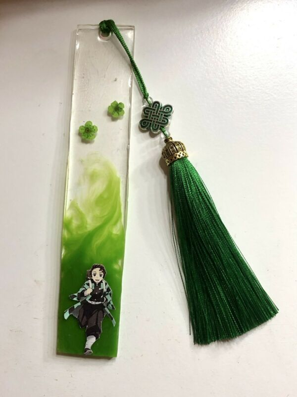 Tanjiro Kamado (Green) Resin Anime Bookmark
