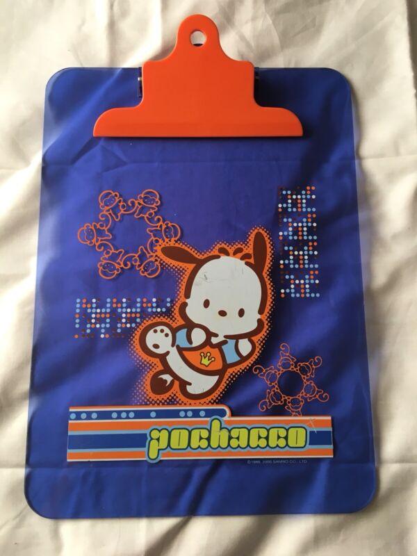Sanrio Pochacco Soccer Star Vintage Full Size Clipboard 2000 Used