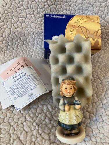 Vtg Hummel Goebel Figurine 761 From The Heart (Fur Dich) In Box
