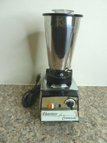 Vintage Electric Osterizer Commercial Blender 352-61J 5 Cup Canister