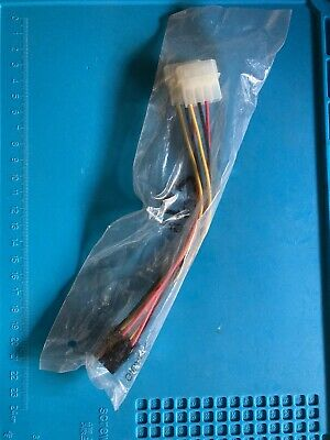 Cable alimentacion tarjeta grafica PCI Express 8 pines hembra a Molex