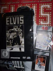 Elvis Presley Sammler-Edition/ Ausgabe 40 /ed sullivan show 2 / DeAgostini/DVD