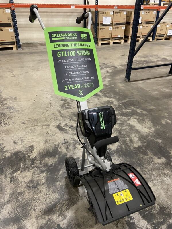 GreenWorks Commercial GTL100 82V 10