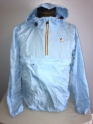 K Way X Sant Ambroeus Windbreaker Jacket size XL