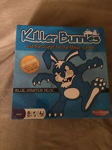 Brand new still in plastic Killer bunnies card game