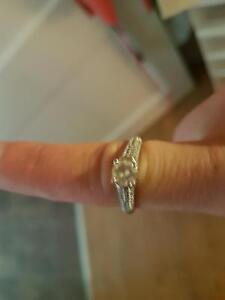 925 sterling silver rings size 7 and 8