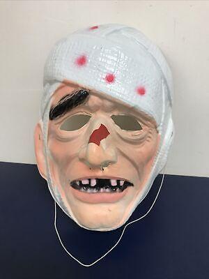 Vintage Ben Cooper Mummy Mask 1960's Halloween Costume Rare