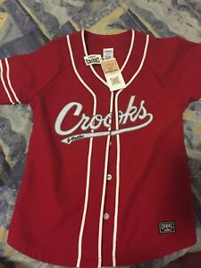 Brand new crooks and castles baseball jersey