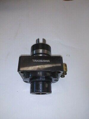 Live Tool Holder Gm81003t001 Takisawa Ex-510 Cnc Lathe Vertical Er32 Collet