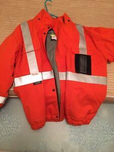 FR winter work coat.