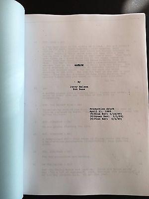 ALWAYS 1989 Screenplay Script - Steven Spielberg, Richard Dreyfuss, Holly Hunter