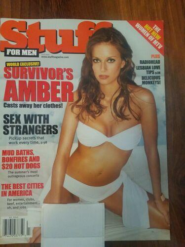 Stuff Magazine Survivor s Amber Radiohead July 2001 Madison Michelle  - $2.99