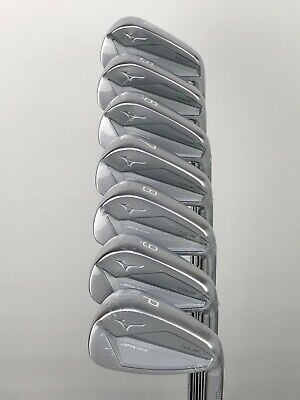 MIZUNO JPX 919 TOUR FORGED IRONS 4-PW REGULAR FLEX KBS TOUR SHAFTS +0.25""