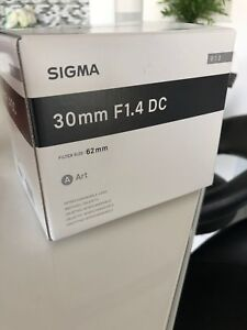 Sigma 30mm 1.4 For Sony A ( Sony A mount ) NEW PRODUCT