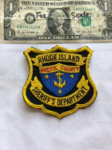 Bristol County Rhode Island Police Patch (Sheriff