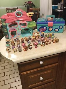Large Littlest Pet Shop Lot