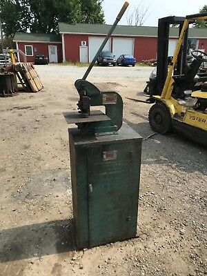 Whitney 118 Punch Press With Factory Stand - Punches Dies Will Ship