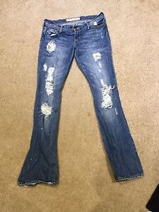Women's name brand jeans