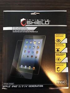 New IPad 2, 3, 4 screen protector, case and sleeve