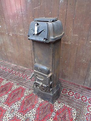 Art Deco Kanonenofen Oranier 311 Gussofen Eisen Holz Kohle Ofen