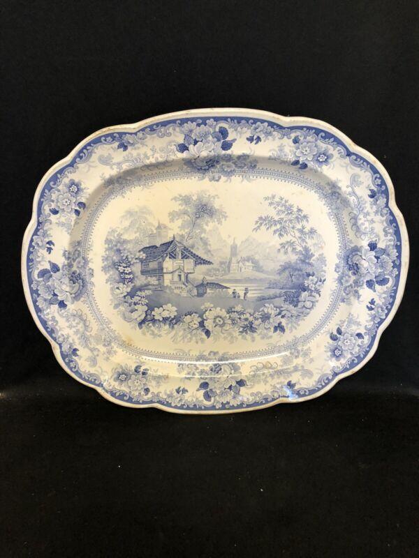 "20 3/8"" Genevese Staffordshire Platter"