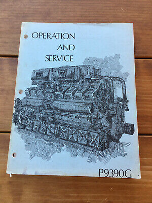 1980 Waukesha P9390 Series Gas Engines Operation And Service Manual