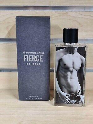 Authentic Abercrombie & Fitch Fierce Cologne 6.7 ounces