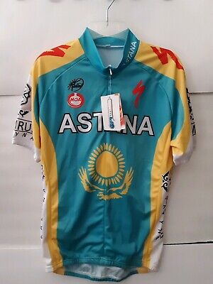 Brand New With Tags. Large Astana Cycling Jersey. a41016448