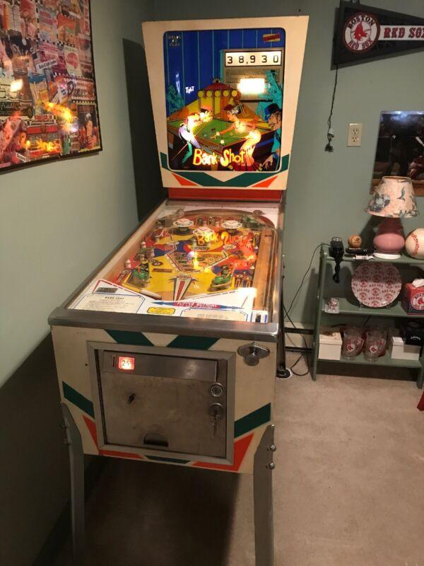 Gottlieb's BANK SHOT Pinball Machine 1976-RARE!