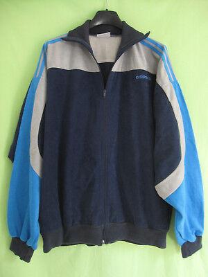 Explorer Marine (Veste Adidas ventex Explorer Marine et ciel Vintage Jacket 80'S - 180 / L)