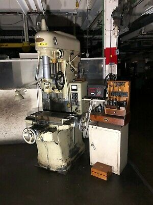 Moore Special Tool Model 2 Jig Borer Boring Press Machine Bridgeport 440v
