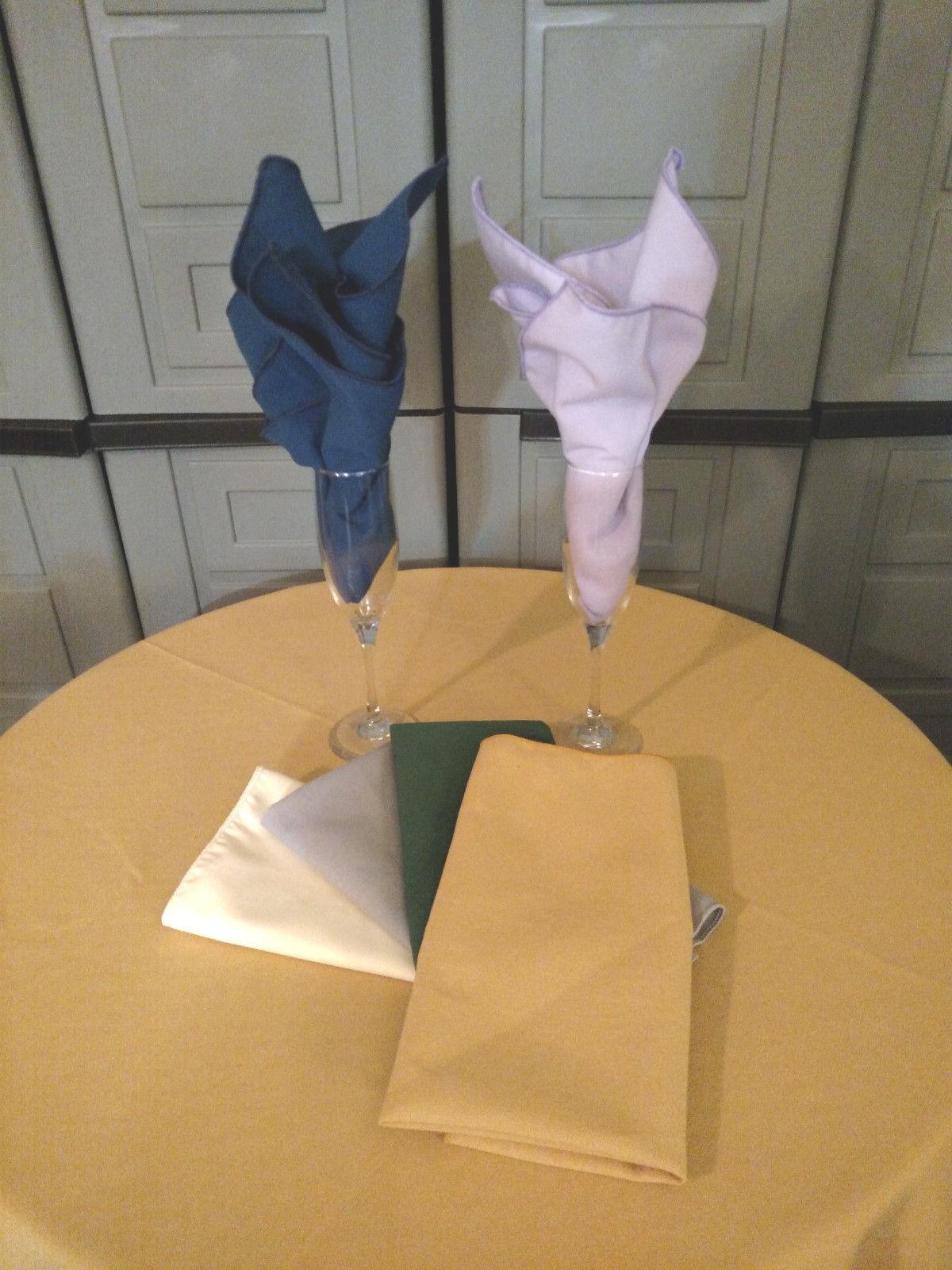 """Rectangle Tablecloth 90"""" x 156"""" SPUN POLY linen cotton FEEL"""