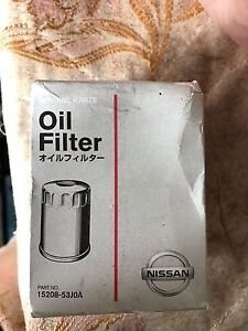 Genuine Nissan Oil Filter (15208-53J0A) Lidcombe Auburn Area Preview