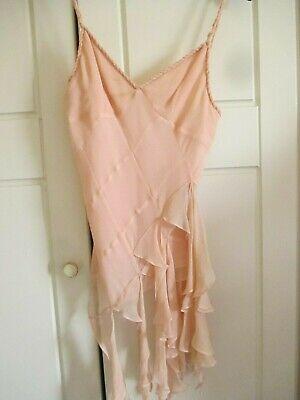 Pink Silk Karen Millen Top Size 10