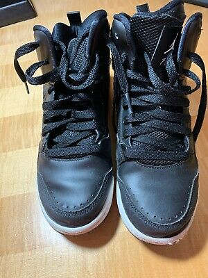 Nike Flight Boys Basketball Shoes Size 5Y Black
