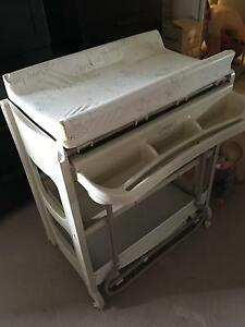Baby change table with built in bath Erskineville Inner Sydney Preview