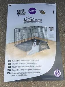 Kazoo large dog crate - like new condition Pacific Pines Gold Coast City Preview