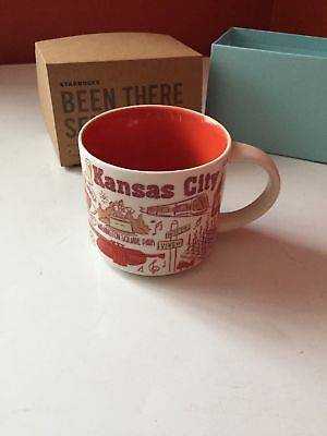 Kansas City Starbucks Coffee Mug 14 oz. Been There Series Cup NEW In Box