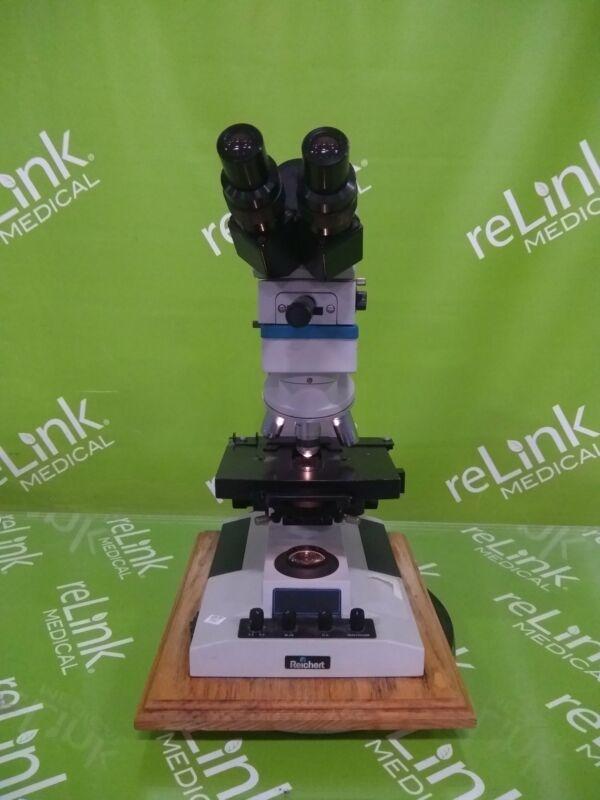 Reichert 410 Laboratory Microscope