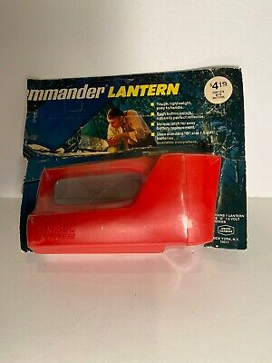 Eveready Jr. Commander Lantern New In Box Vintage!