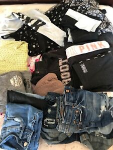 Lot of girls age 12-13 clothes sz1-3? Adult small