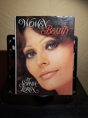 WOMEN AND BEAUTY - FIRST AMERICAN  EDITION SIGNED BY ACTRESS SOPHIA LOREN