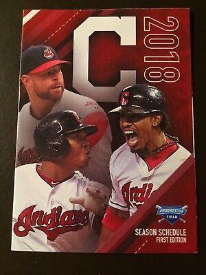 Cleveland Indians 2018 Mlb Pocket Schedule   Indians Com