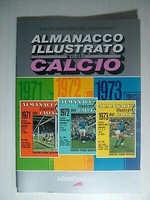 2005 Almanacco Illustarato del Calcio Panini Gazzetta dello sport 1970-1972